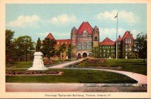 Canada Toronto Provincial Parliament Buildings