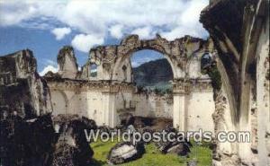 Antigua Guatemala Guatemala, Central America La Recoleccion Church Antigua Gu...