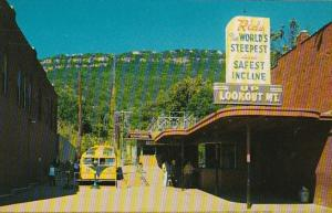 Tennessee Chattanooga Incline Station At Foot Of Lookout Mountain