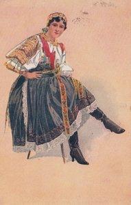 Devce z Pisfan , Czech Republic , 1922