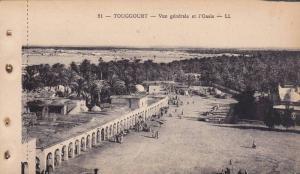 TOUGGOURT, Vue generale et l'Oasis, Algeria, 10-20s
