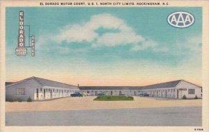 Florida Rockingham El Dorado Motor Court U S North City Limits