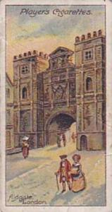 Player Vintage Cigarette Card Celebrated Gateways 1909 No 43 Aldgate London 1609