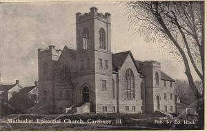 CARTHAGE, Illinois, PU-1909; Methodist Episcopal Church