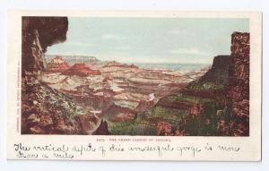 Grand Canyon of Arizona 1900 UDB Detroit Photographic Co.