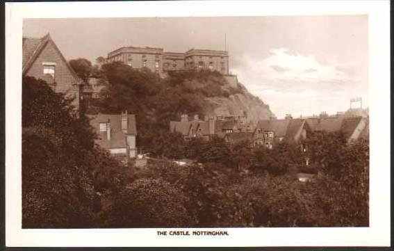 The Castle Nottingham  - Real Photo Postcard