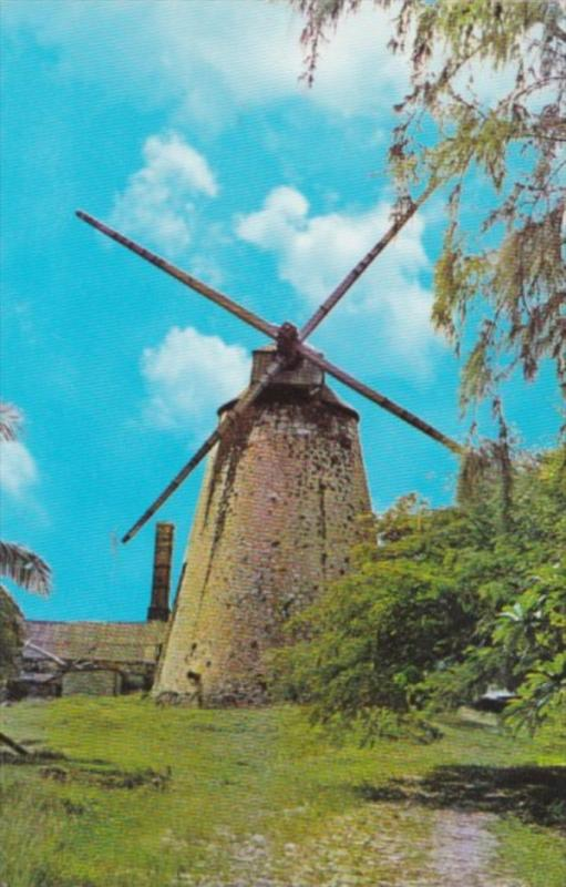 Barbados St Andrew Windmill At Morgan Lewis