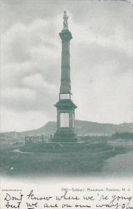 New Jersey Paterson Soldiers Monument
