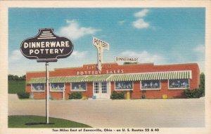 Ohio Zanesville Pottery Sales Pottery Center Store sk177
