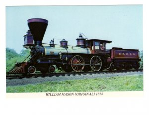 Railway Train, William Mason, Steam Engine, Baltimore, Maryland