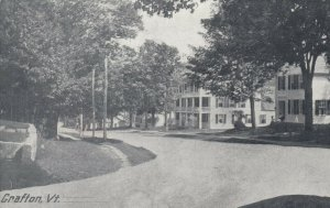 GRAFTON , Vermont , 1912 ; Main Street ; Version-3