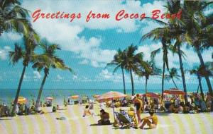 Florida Greetings From Cocoa Beach 1975