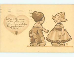 Divided-Back CHILDREN SCENE Great Postcard AA5320