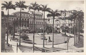 RP; SAO PAULO , Brazil, 1920-1940s; Teatro Muncipale
