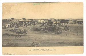Village Du Bender-Jedid, Djibouti, Africa, PU-1914