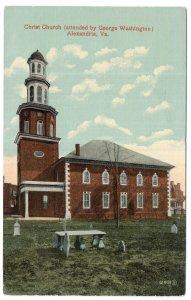 Alexandria, Va, Christ Church (attended by George Washington)