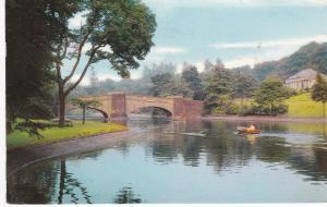 Postcard Lancashire Burnley Thompson Park