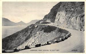 South Africa Chapman's Peak Looking to Hout Bay