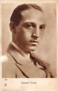 George E. Stone Polish-born American character actor