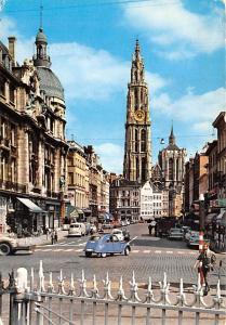 Anvers Belgium, Belgique, Belgie, Belgien Cathedrale et rempart au sucre Anve...