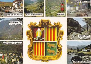 Postal 62141 : Valls d Andorra. Bonics paisatges Andorrans