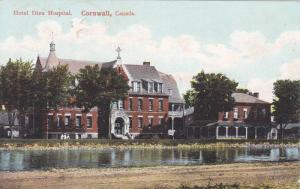 Exterior, Hotel Dieu Hospital,Cornwall,Canada,PU-1909