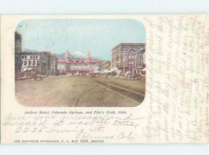 Pre-1907 ANTLERS HOTEL Colorado Springs Colorado CO F7170