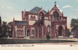 Salem Luthern Chapel, Lebanon, Pennsylvania, 1900-1910s