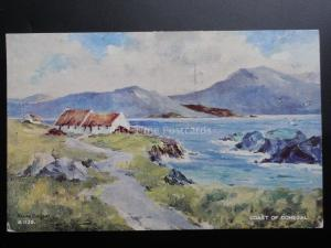 Ireland: Coast of Donegal c1954 Old Postcard Pub by Valentine No.A1159