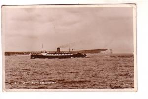 Real Photo, SS Newhaven, Seaford Bay, England