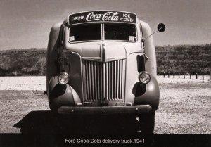 Coca-Cola Delivery Truck circa 1941   (Photo Reprint, 5.75 X 4)