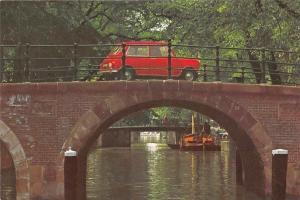 Netherlands Amsterdam Oude Brug, Old Bridge, Vieux Pont Voiture Car