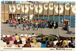 WA - Spokane, 1974. Expo '74 World's Fair. International Ampitheatre
