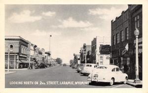 Laramie WY~Games & Sports Store~Taylor Drugs~Midwest Cafe~JC Penney's 1940s Cars