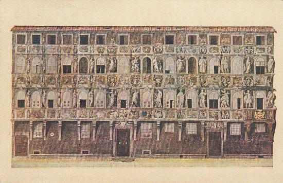 FIRENZE, Italy, PU-1952; Palazzo Antellesi
