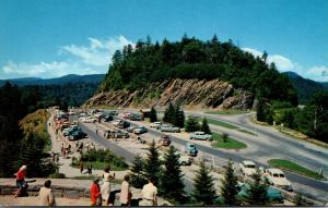 Tennessee Smoky Mountains Newfound Gap Parking Area