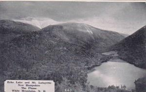 New Hampshire White Mountains The Flume Echo Lake and Mt Lafayette Dexter Press