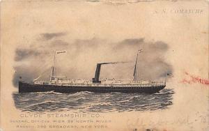S.S. Comanche  Clyde Steamship Co.,