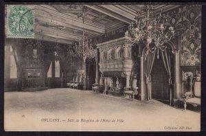 Salle de Reception de l'Hotel de Ville,Orleans,France BIN