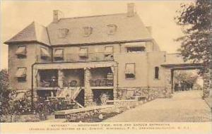 New York Ossining On Hudson Bethany Southwest View Main and Garden Entrances ...
