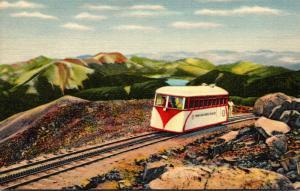 Colorado Pikes Peak Streamline Car Replacing Old Cog Railroad Curteich