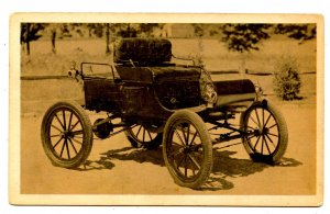 1902 Oldsmobile Curved Dash Runabout, Model R, $650! *NOT A POSTCARD*