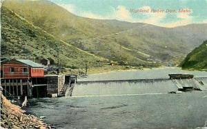ID, Highland Power Dam,  Idaho, Sprouse & Son No. 4269