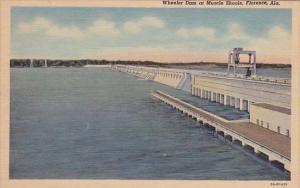 Wheeler Dam At Muscle Shoals Florence Alabama