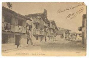 FUENTERRABIA, Spain, PU 1905, Barrio de la marina