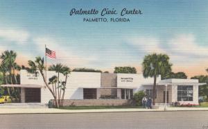 PALMETTO , Florida , 30-40s ; Civic Center