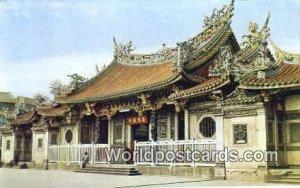 Lung Shan Tewple Taipei Taiwan Unused