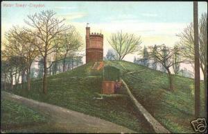london, CROYDON, Water Tower (ca. 1910)
