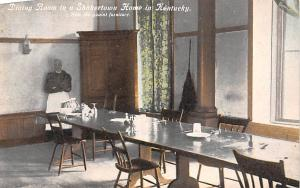 Shaker Postcards Old Vintage Antique Post Cards Dining Room Shakertown, KY Wr...
