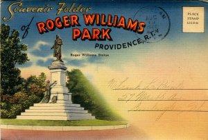 Folder -  RI, Providence. Roger Williams Park    18 views + narrative